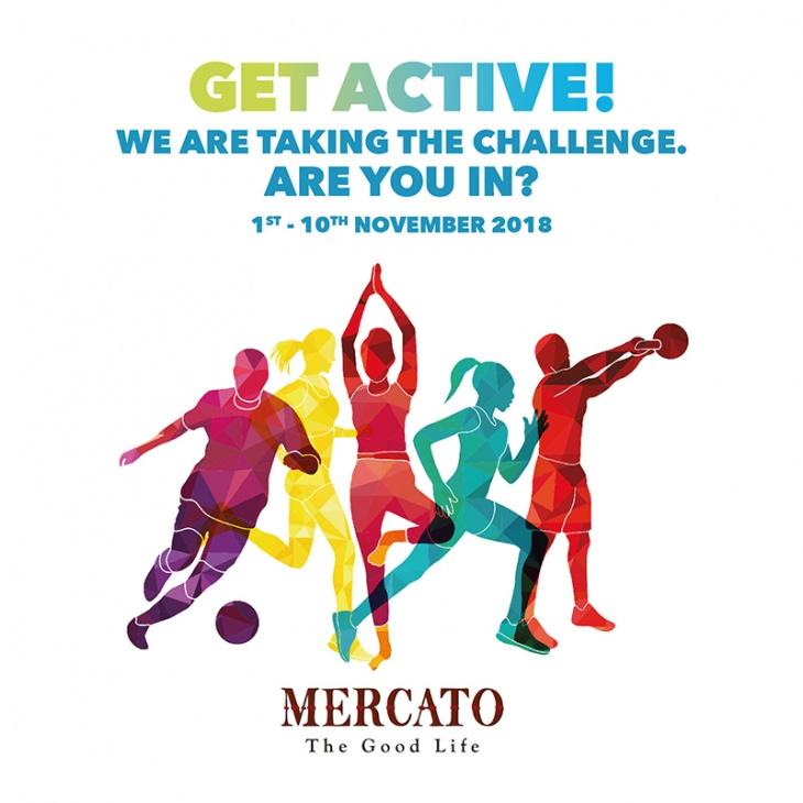 Get Active at Mercato