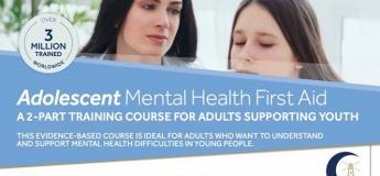 Adolescent Mental Health First Aid Training