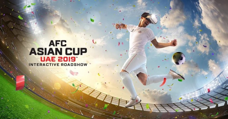 Asian Cup 2019 Interactive Roadshow