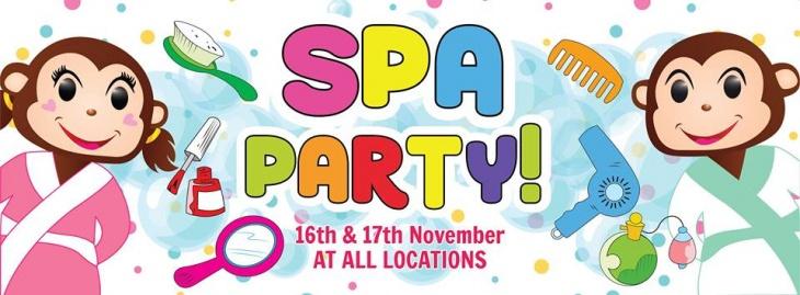 Spa Party at Cheeky Monkeys J3 Mall