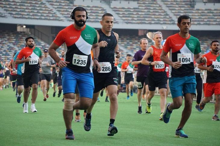 ADCB ZSC 5 & 10 km Run: Race 2   Zayed Sports City