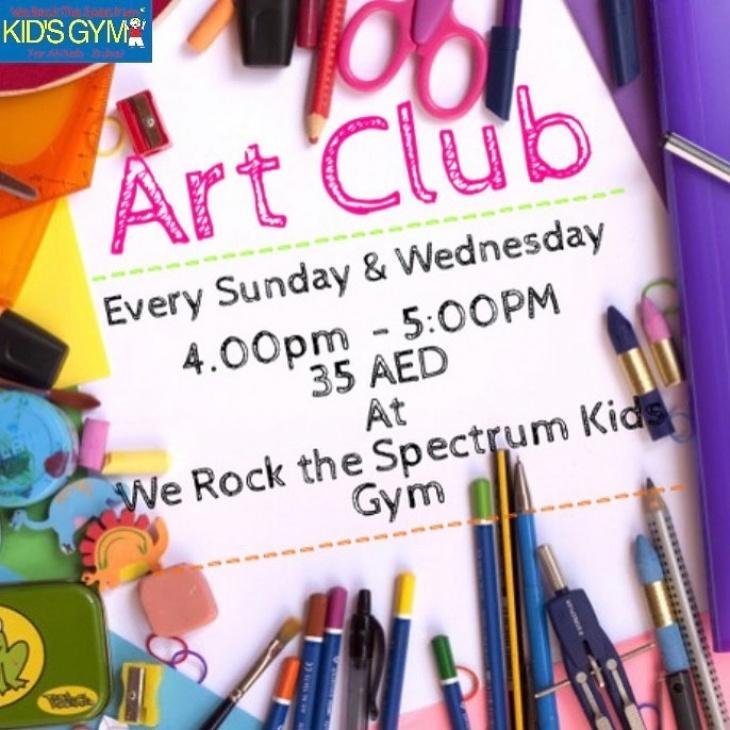 After School Art Club @ We Rock The Spectrum
