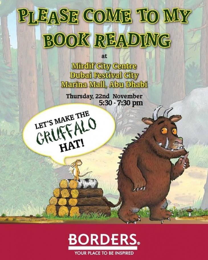Gruffalo Book Reading @ Borders