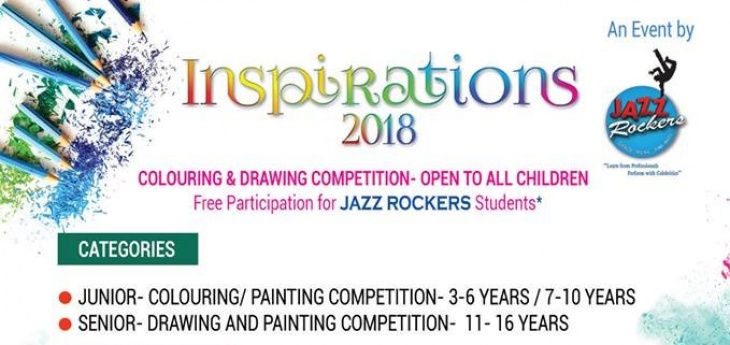 Inspirations 2018: Colouring & Drawing competition