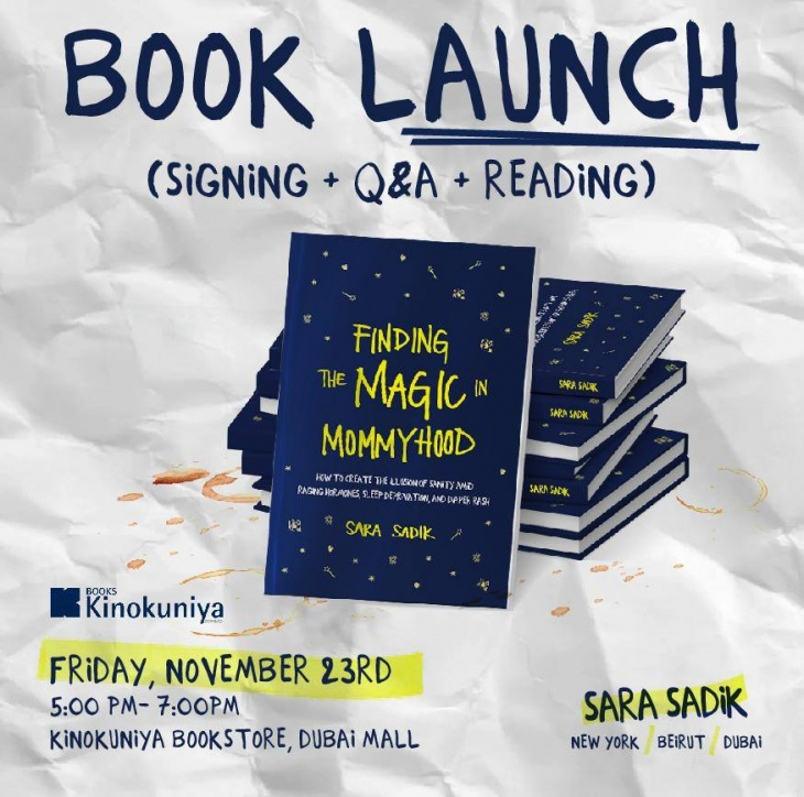 Book Launch: Finding the magic in Mommyhood