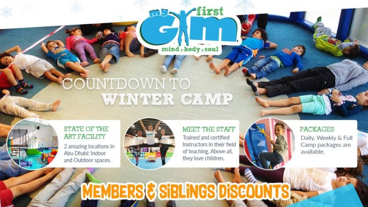 Winter Camp My First Gym Tickikids Abu Dhabi