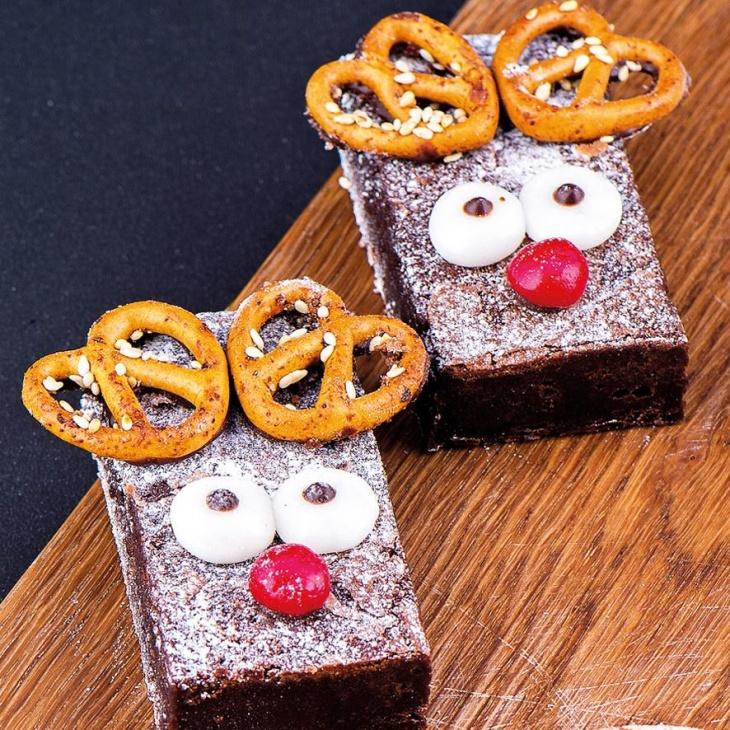 Kids masterclass: Rudolf chocolate brownie making