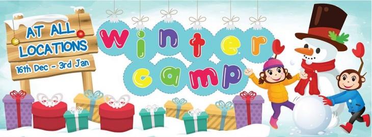 Winter Camp @ Cheeky Monkeys J3 Mall
