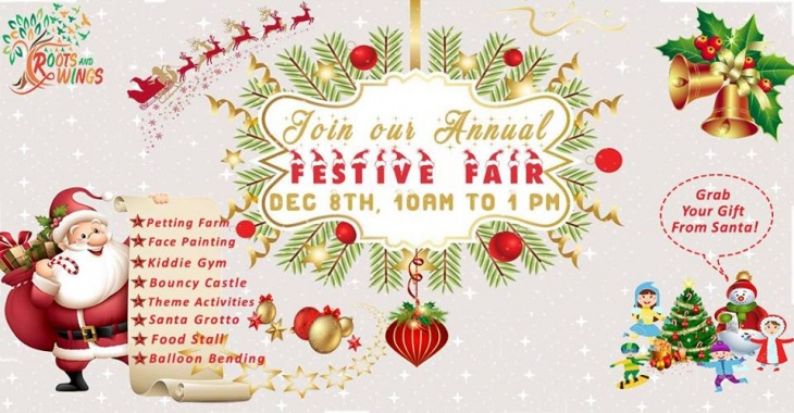 Annual Festive Fair - Free Entry, Register Now