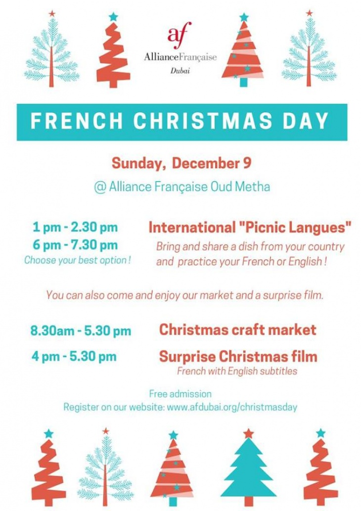 Christmas Day In France.French Christmas Day Tickikids Dubai