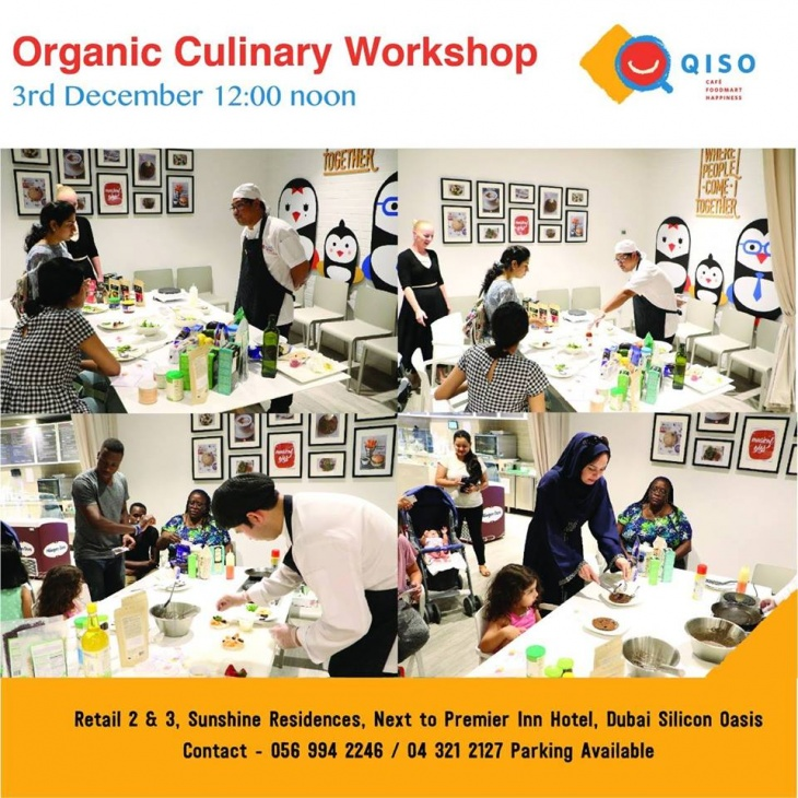 Organic Culinary workshop at QISO