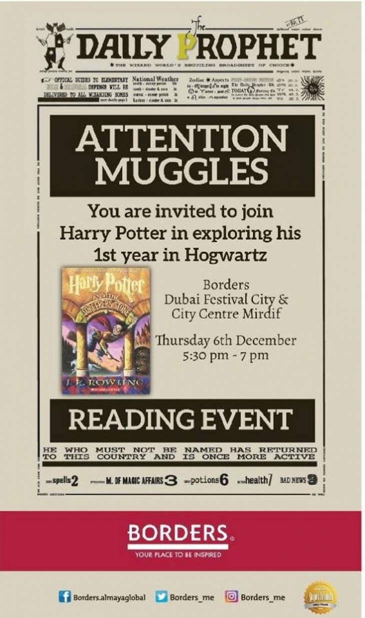 Harry Potter Reading Event