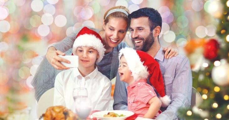 Family Christmas Day