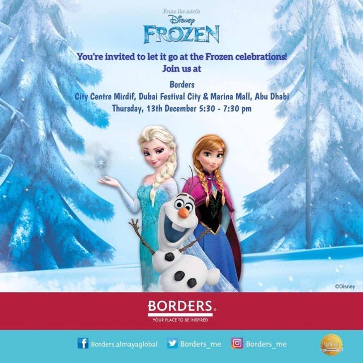 Frozen Celebrations @ Borders