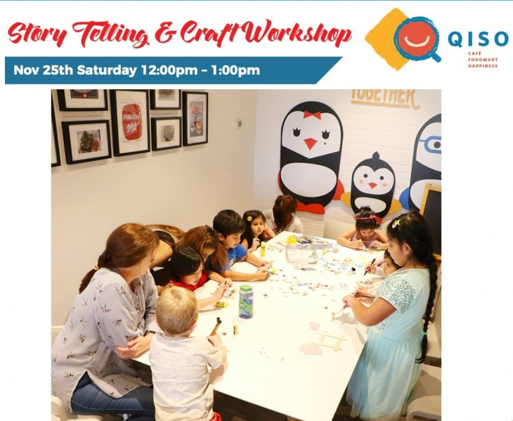 Lunch Event - Story Telling Session & Craft workshop