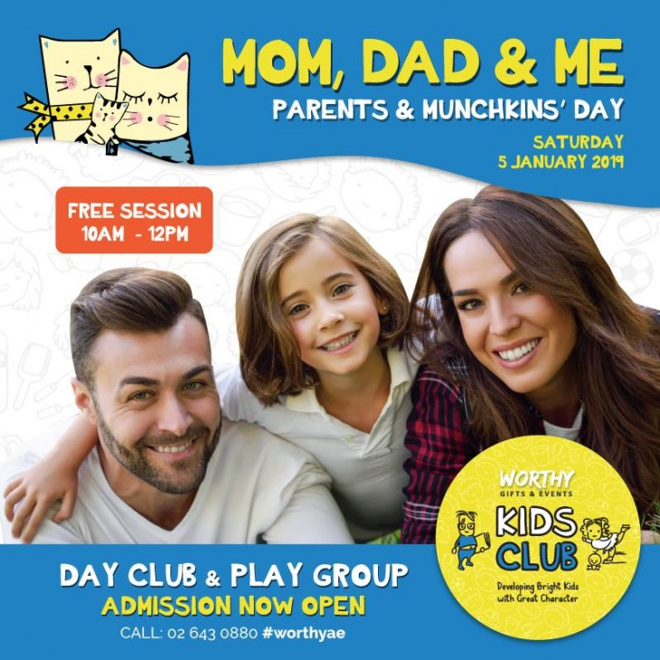 Free Mom, Dad & Toddler Session for your 2 to 4 year kids