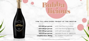Bubbalicious Friday Brunch