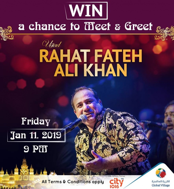 Rahat Fateh Ali Khan @ Global Village