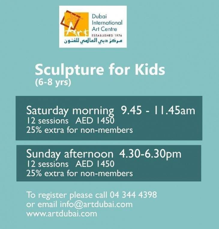 Sculpture classes for kids