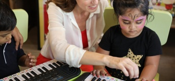 An energizing piano session