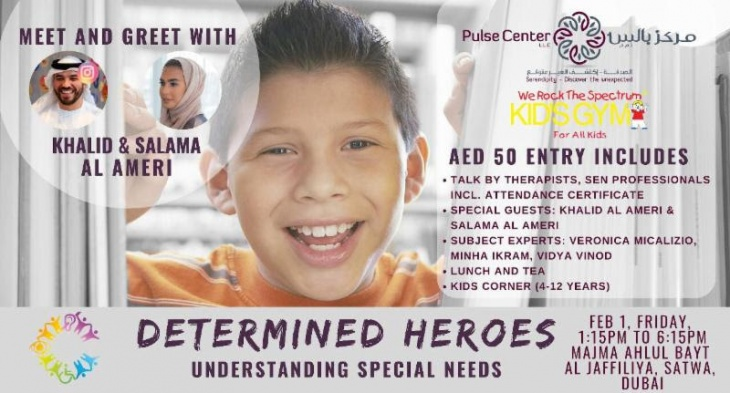 DETERMINED HEROES: Understanding Special Needs Talk