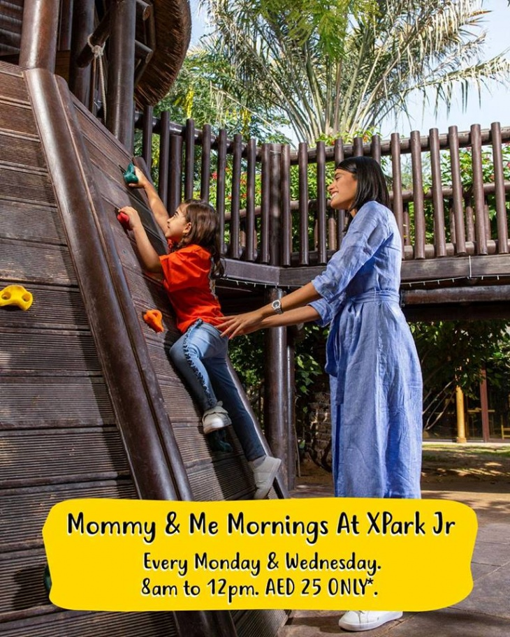 Mommy & Me Mornings at XPark Jr.