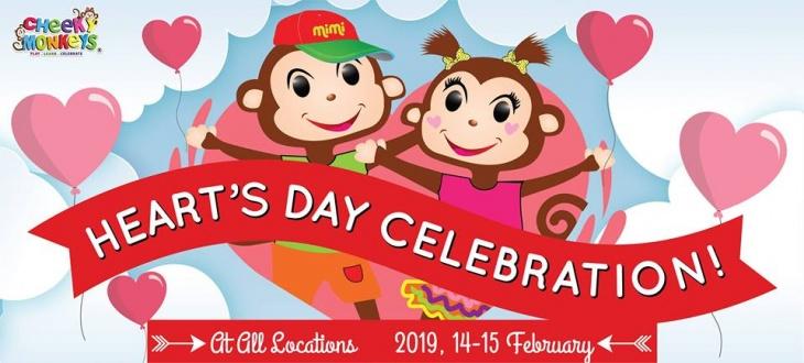 Heart's Day Celebration @ Cheeky Monkeys J3 Mall