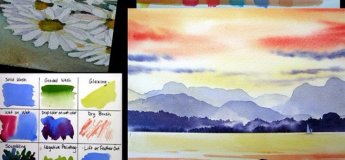 Watercolor for kids (9-12 yrs)