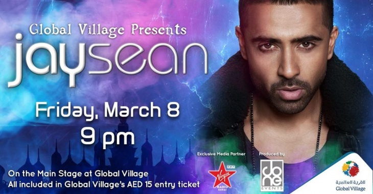 Jay Sean live in concert at Global Village