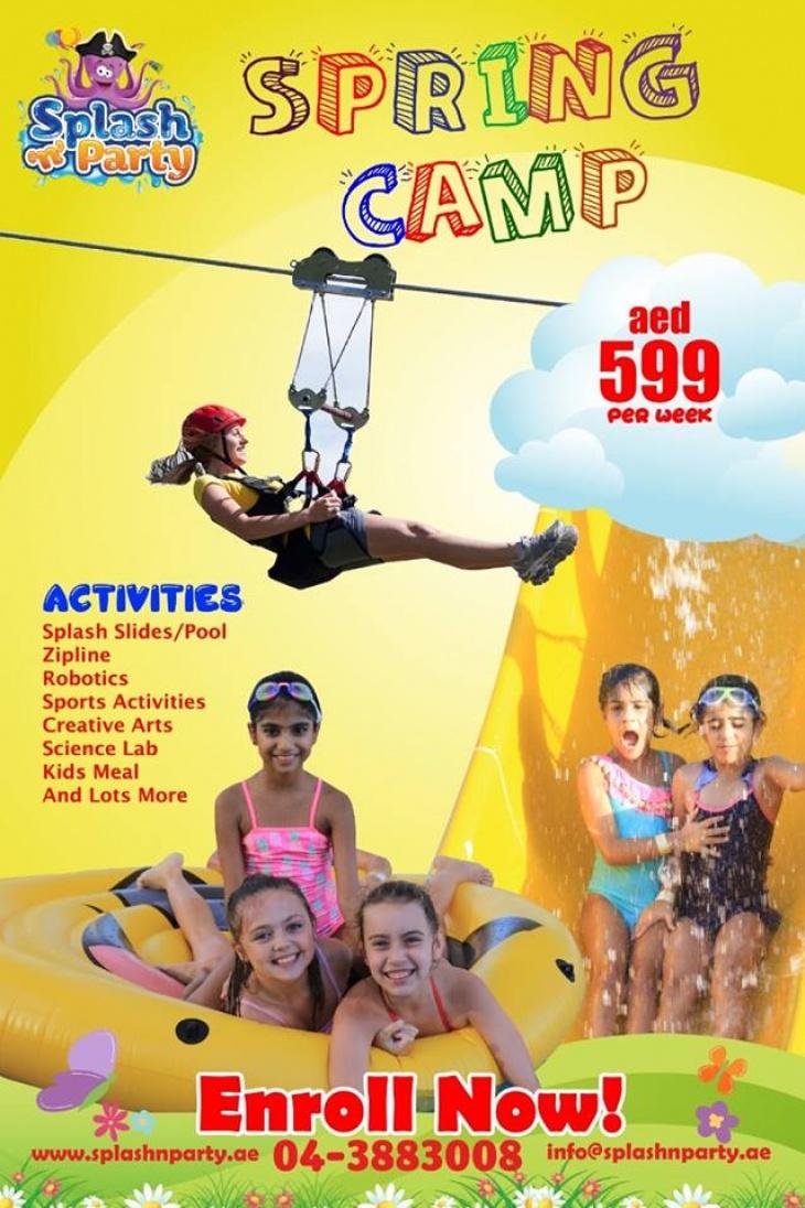 Splash N Party Spring Camp 2019