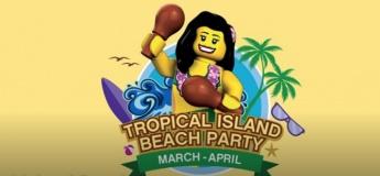 Tropical Island Beach Party