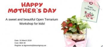 Mother's Day Open Terrarium Workshop