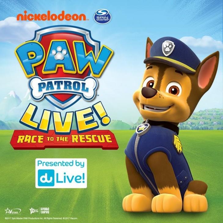 22ed7bddc Paw Patrol Live in Abu Dhabi   Tickikids Abu Dhabi