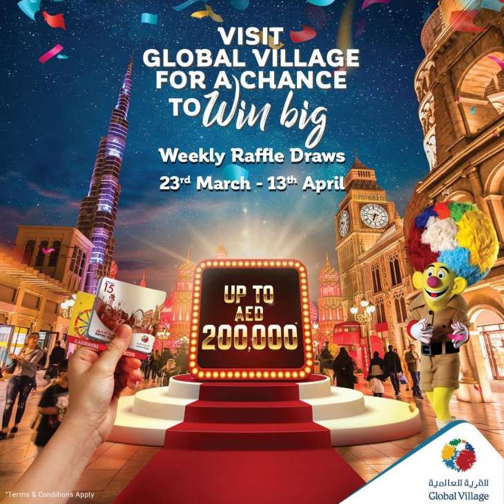 Weekly Raffle Draws @ Global Village