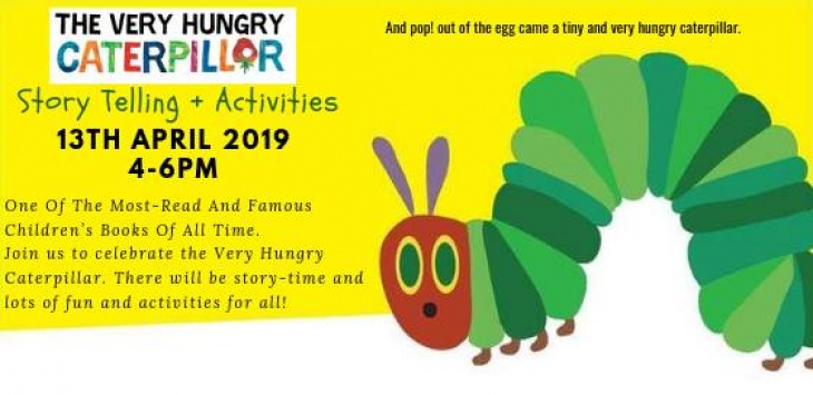 The Very Hungry Caterpillar Story Reading and Activities