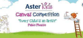 Aster Kids Canvas Competition - Aster Clinic Al Qusais