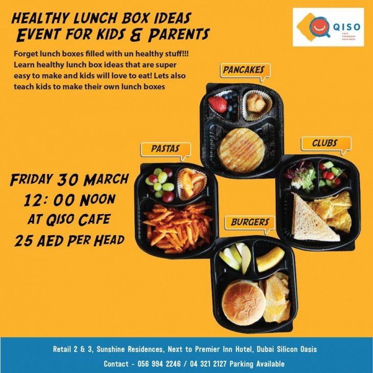 Healthy Lunch Box Ideas Event for Parents and Kids