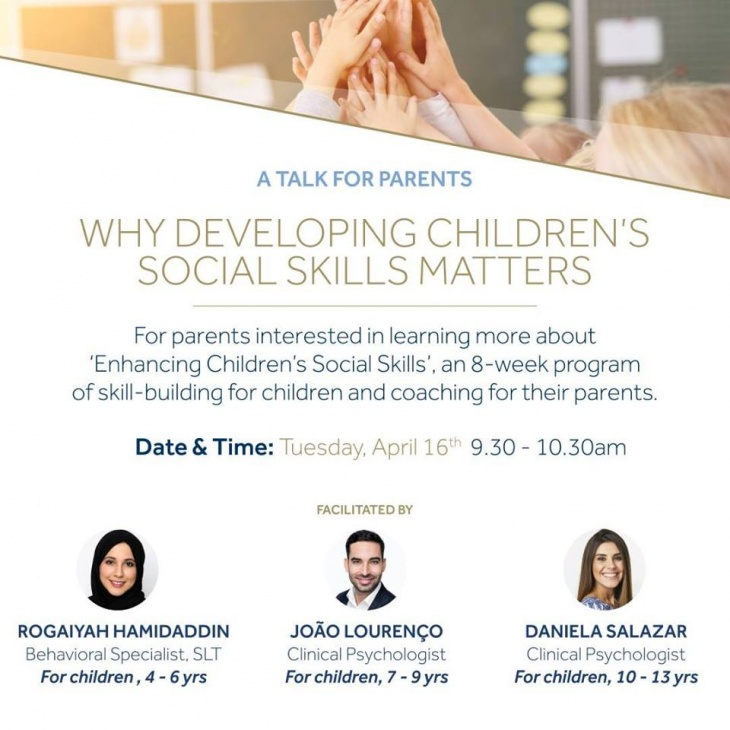 Free Parents Talk - Developing Children's Social Skills