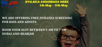 Dyslexia Awareness Week - Free Screening for Dyslexia
