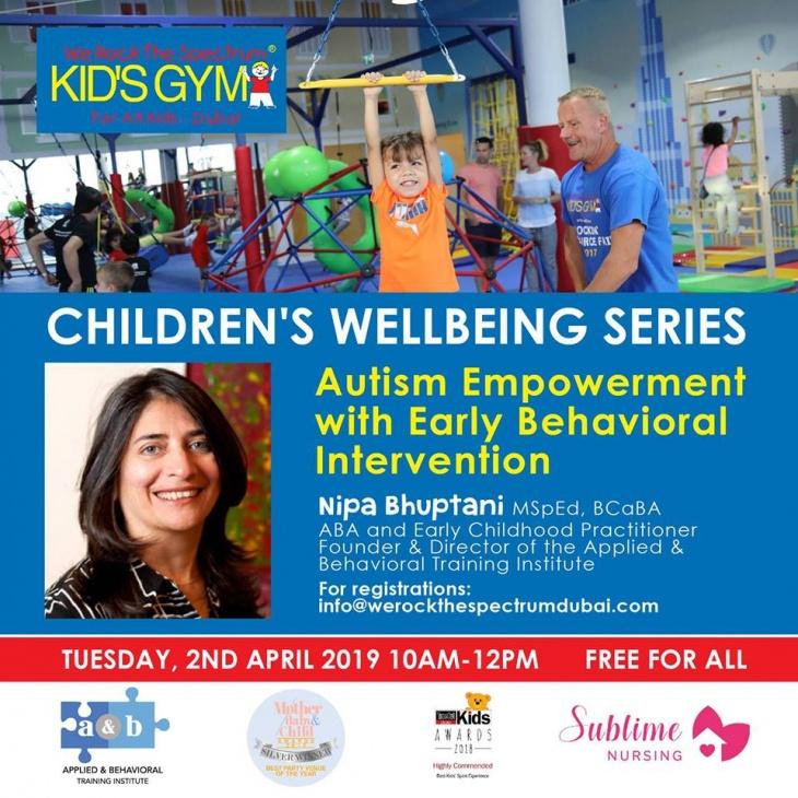 Children's Wellbeing Talk with Nipa Bhuptani