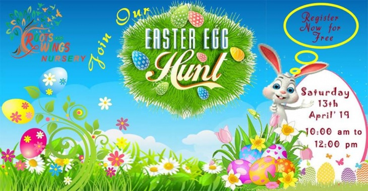 Free Easter Egg Hunt @ Roots and Wings Nursery