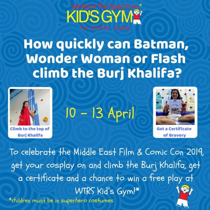 Middle East Film & Comicon with WRTS Kid's Gym
