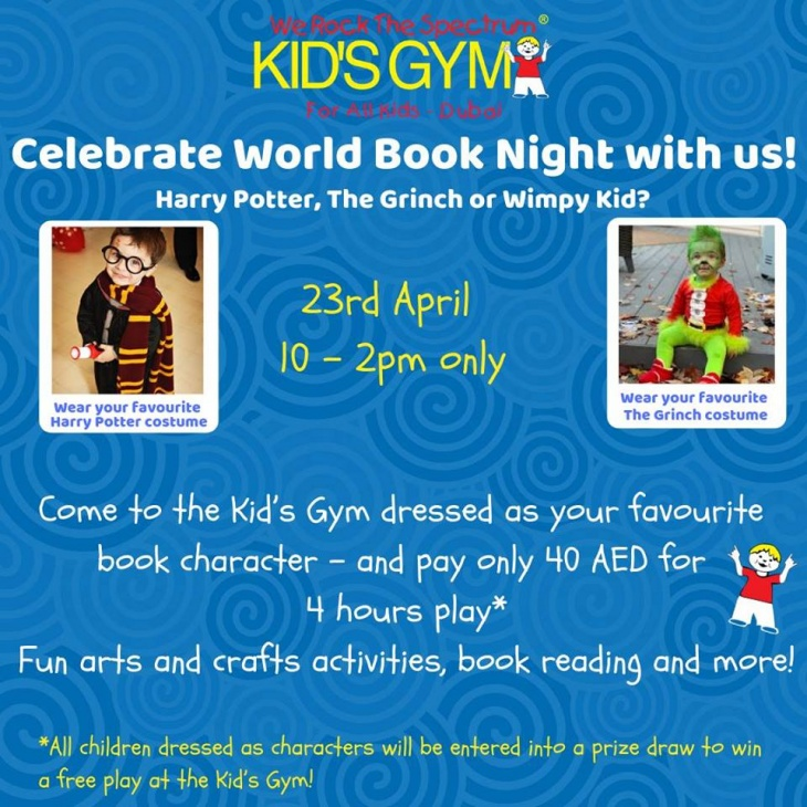 World Book Night With WRTS Kid's Gym