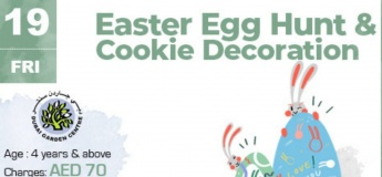 Easter Egg Hunt & Cookie Decoration