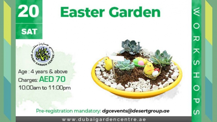 Easter Garden at House of Flowers
