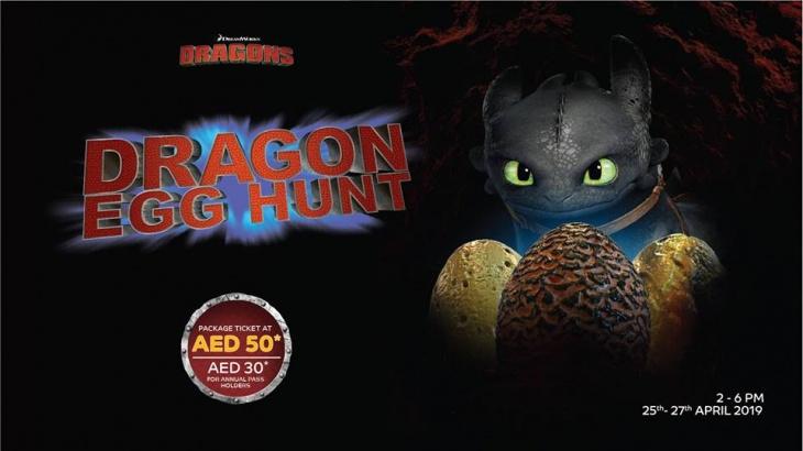 Dragon Egg Hunt @ Motiongate