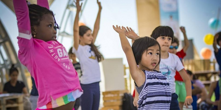 Kids Yoga 600AED - 8 Week Course