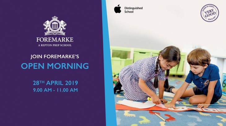 Early Years Open Day @ Foremarke School