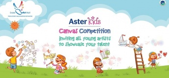 Aster Kids Canvas Competition - Outlet Mall