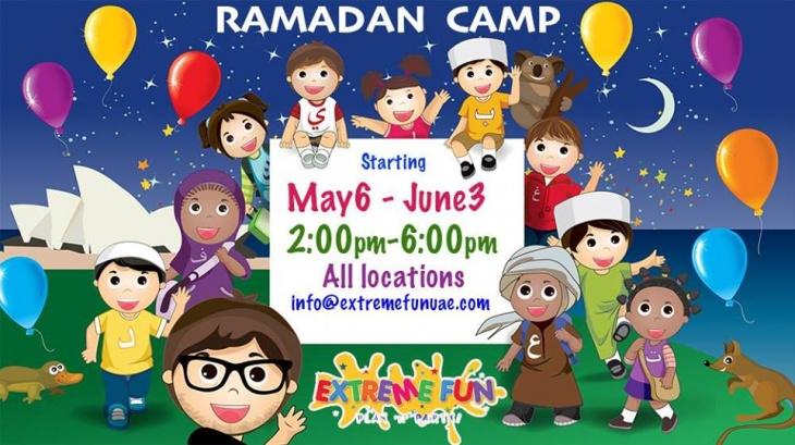 Ramadan Camp at Extreme Fun Motor City